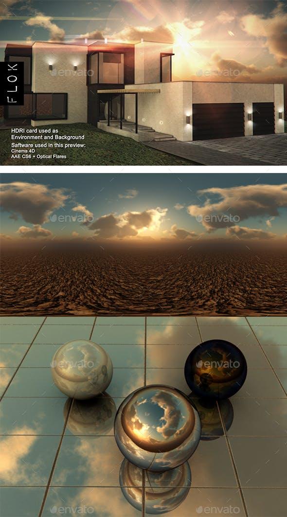 Sunset Desert 102 - 3DOcean Item for Sale