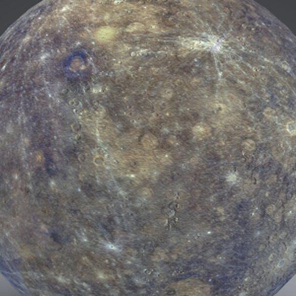 Mercury 4k Globe