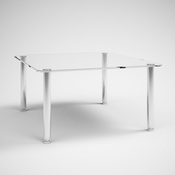 CGAxis Modern Glass Topped Table 30