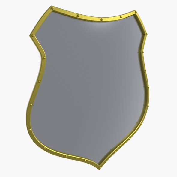 Medieval Shield - 3DOcean Item for Sale