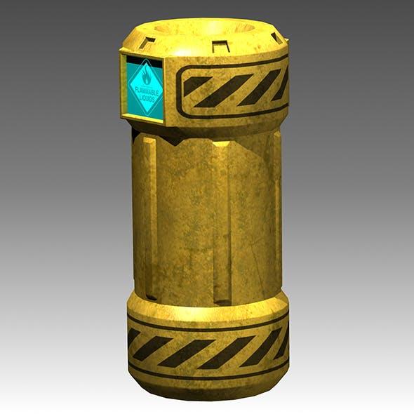 High-Tech Barrel - 3DOcean Item for Sale