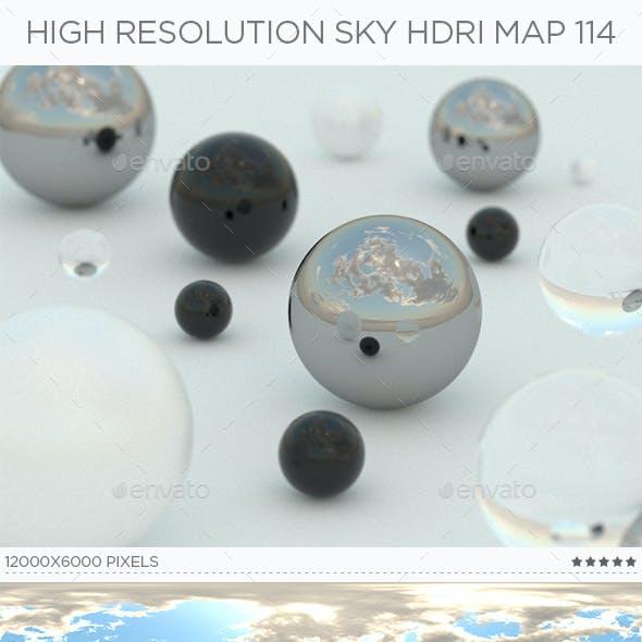 High Resolution Sky HDRi Map 114