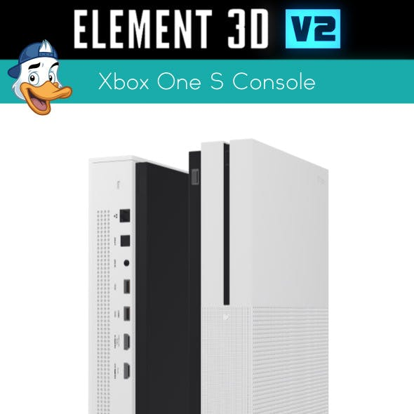 Xbox One S Console for Element 3D