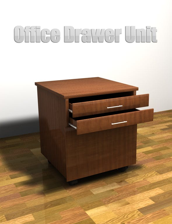 Drawer Unit - 3DOcean Item for Sale