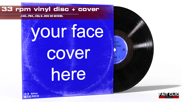 LP vinyl + cover - 3DOcean Item for Sale