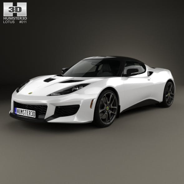 Lotus Evora 400 2014 - 3DOcean Item for Sale