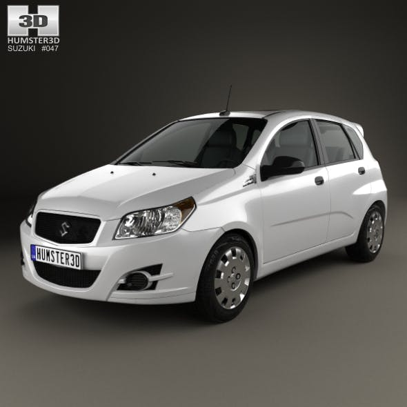 Suzuki Swift Plus 2008 - 3DOcean Item for Sale