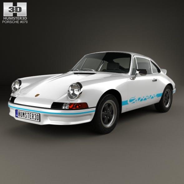 Porsche 911 Carrera RS Sport (911) 1972 - 3DOcean Item for Sale