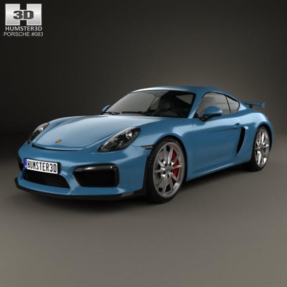 Porsche Cayman GT4 2014 - 3DOcean Item for Sale