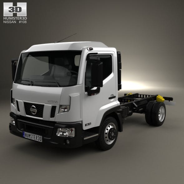 Nissan NT 500 Chassis Truck 2014 - 3DOcean Item for Sale