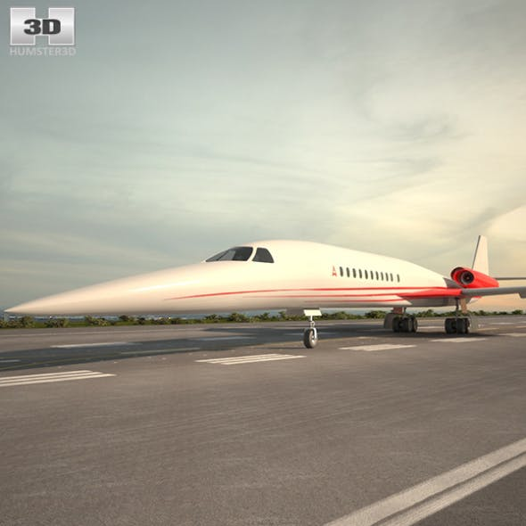 Aerion AS2 - 3DOcean Item for Sale