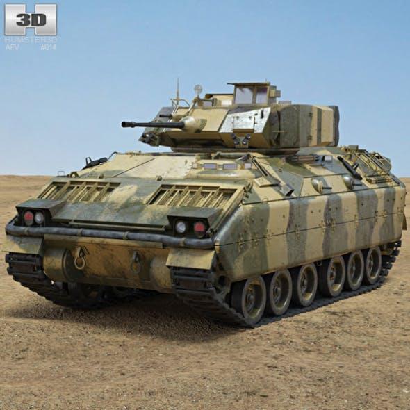 M2A1 Bradley - 3DOcean Item for Sale
