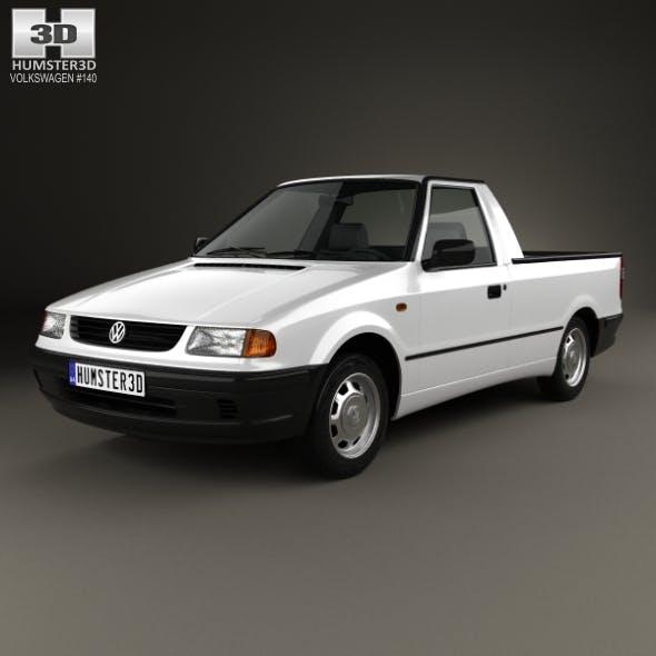 Volkswagen Caddy 1995 - 3DOcean Item for Sale