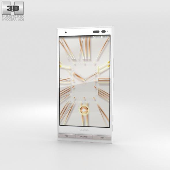 Kyocera Urbano V01 White - 3DOcean Item for Sale