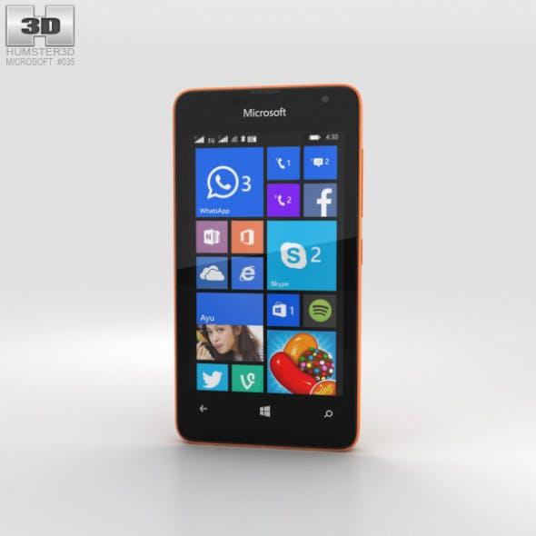 Microsoft Lumia 430 Orange - 3DOcean Item for Sale
