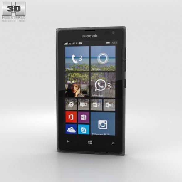 Microsoft Lumia 532 Black - 3DOcean Item for Sale