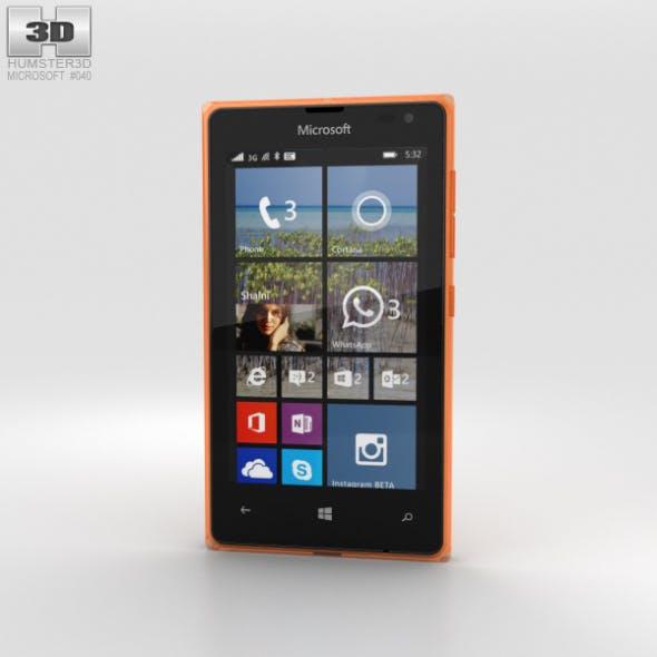 Microsoft Lumia 532 Orange - 3DOcean Item for Sale