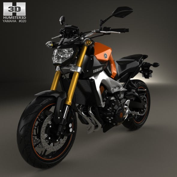 Yamaha MT-09 2014 - 3DOcean Item for Sale