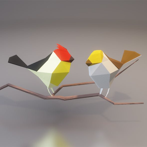 Low Poly Birds
