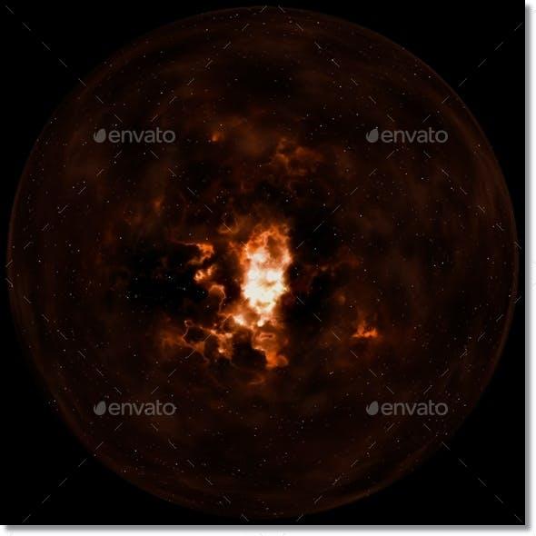 Nebula Space Environment HDRI Map 001