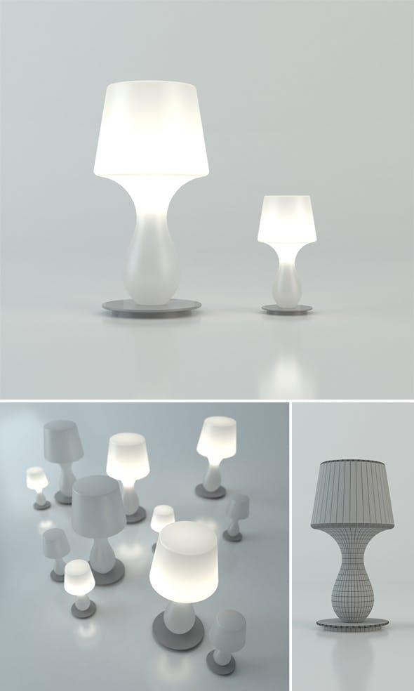 Fata Fatina lamp - 3DOcean Item for Sale