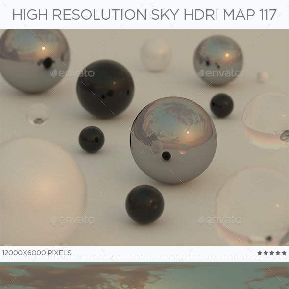High Resolution Sky HDRi Map 117