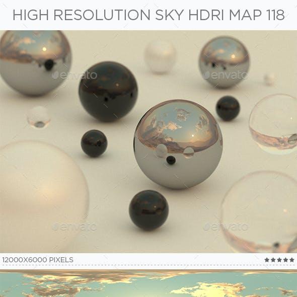 High Resolution Sky HDRi Map 118