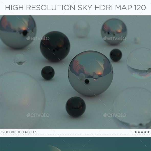 High Resolution Sky HDRi Map 120