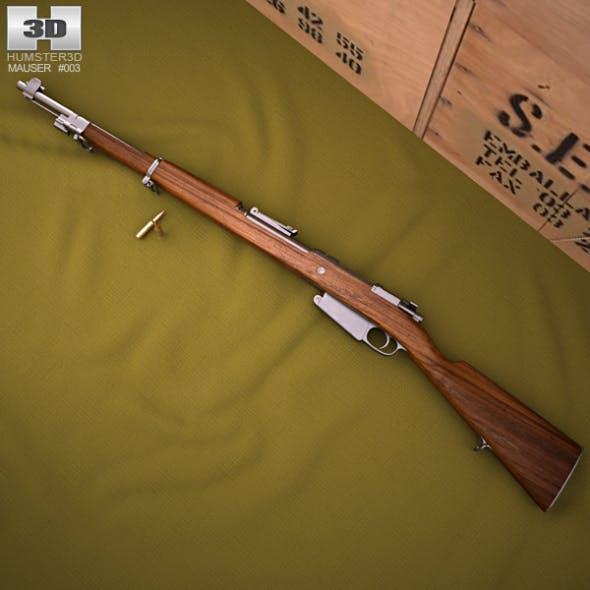 Mauser Model 1889 - 3DOcean Item for Sale
