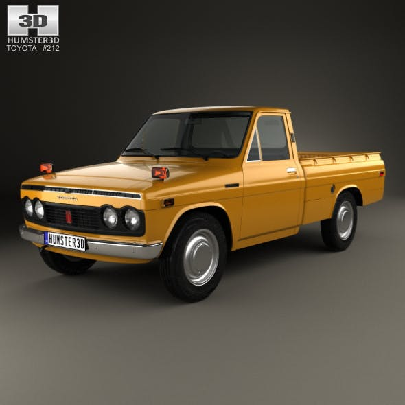 Toyota Hilux 1968 - 3DOcean Item for Sale