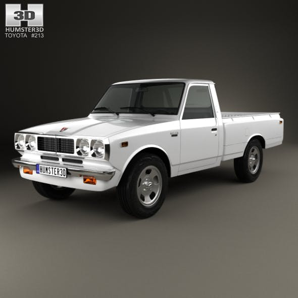 Toyota Hilux 1972 - 3DOcean Item for Sale