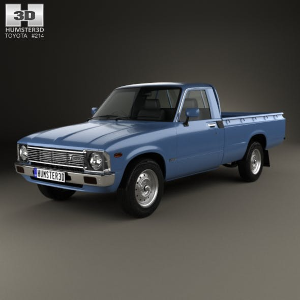 Toyota Hilux Regular Cab 1978 - 3DOcean Item for Sale