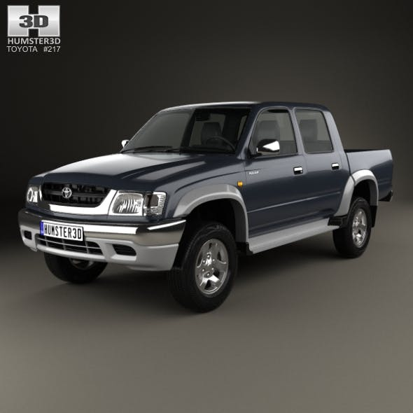 Toyota Hilux Double Cab 2001 - 3DOcean Item for Sale
