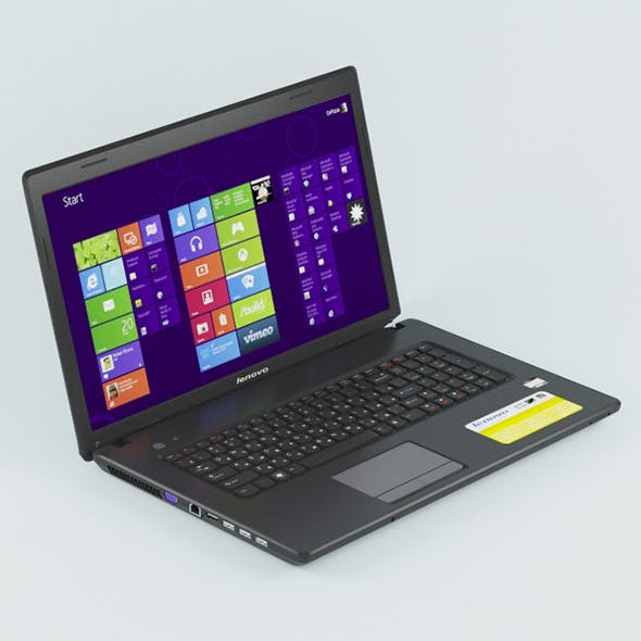 Vray Ready Laptop - 3DOcean Item for Sale