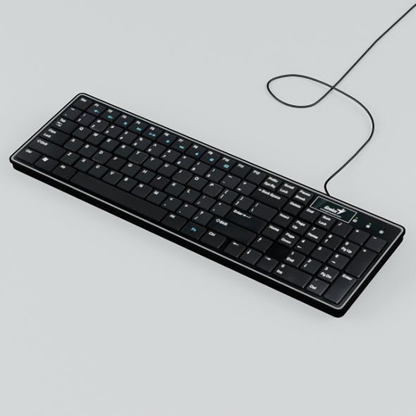 Vray Ready Computer Keyboard