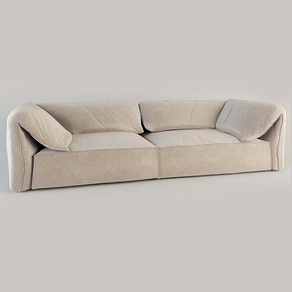 Vray Ready Modern Style Sofa