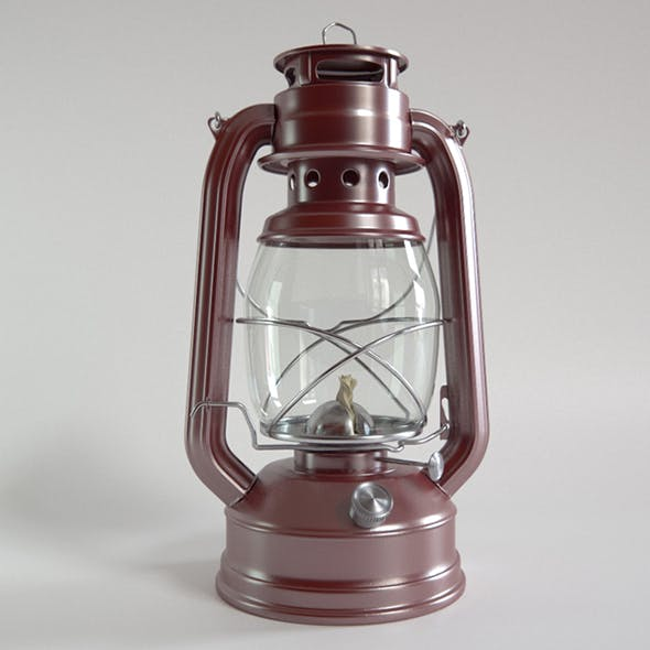 Vray Ready Hanging lantern Lamp