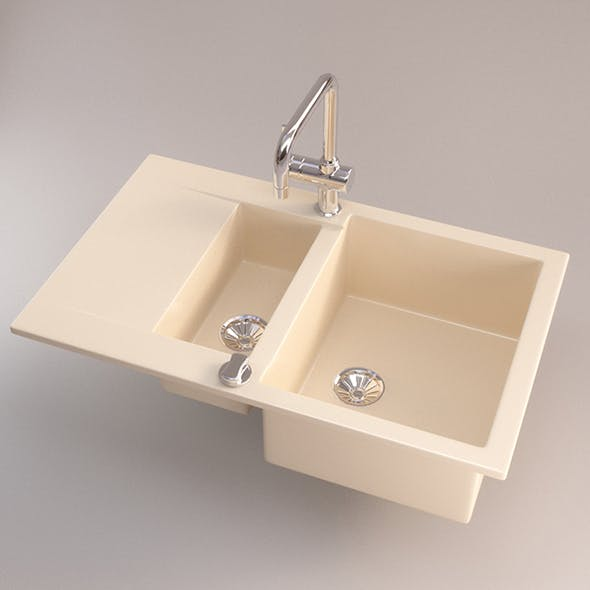 Vray Ready ceramic Kitchen Sink