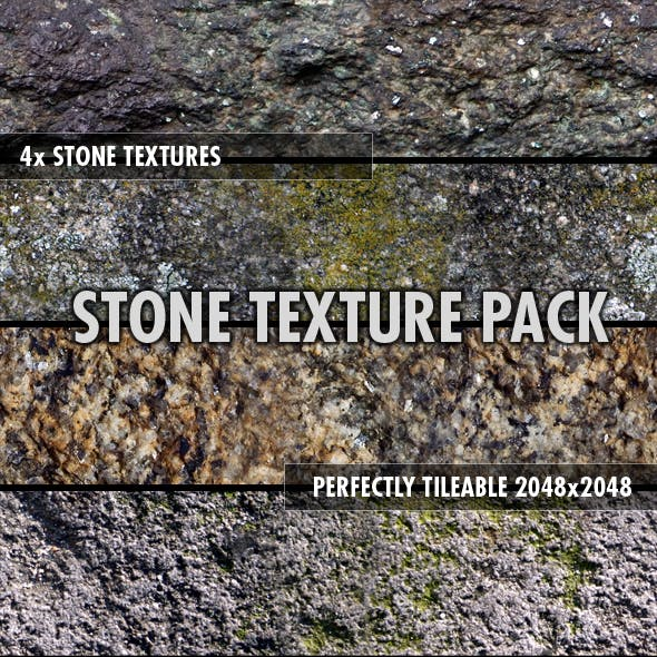 Stone Textures Pack (x4)