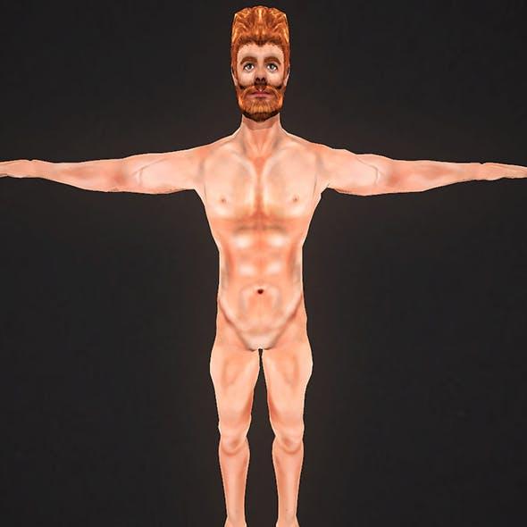 HuMan 3D Project I Animated I Male