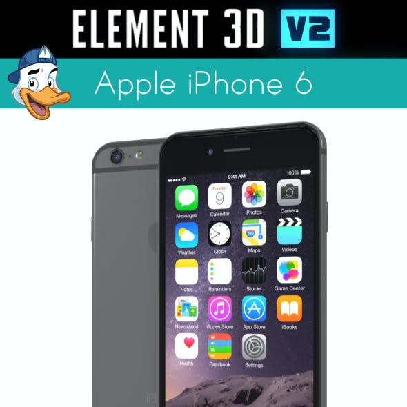 Apple iPhone 6 for Element 3D