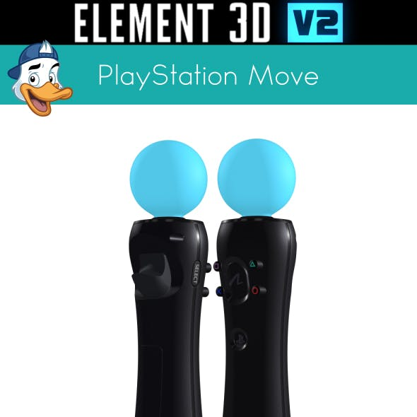 PlayStation Move for Element 3D