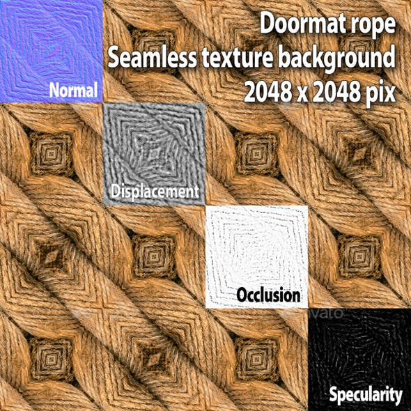 Doormat Seamless Texture - 3DOcean Item for Sale