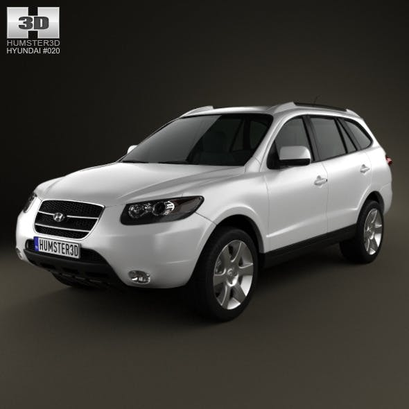 Hyundai SantaFe 2007 - 3DOcean Item for Sale