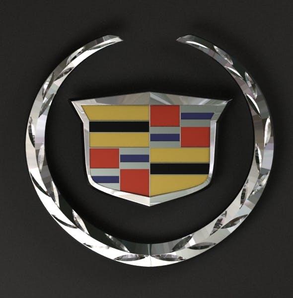 Cadillac Logo - 3DOcean Item for Sale