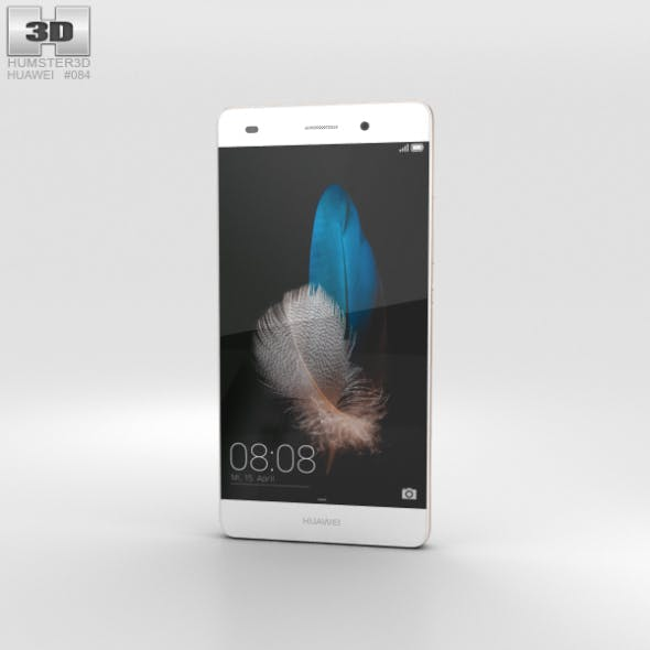 Huawei P8 Lite White - 3DOcean Item for Sale