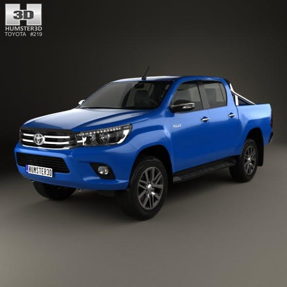 Toyota Hilux Double Cab SR5 2015 - 3DOcean Item for Sale