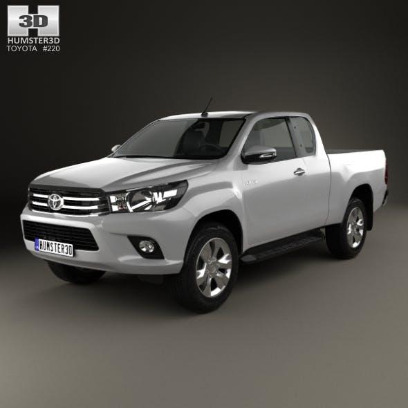Toyota Hilux Extra Cab SR 2015