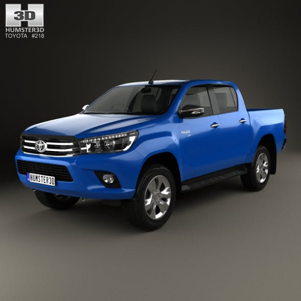 Toyota Hilux Double Cab Revo 2015 - 3DOcean Item for Sale
