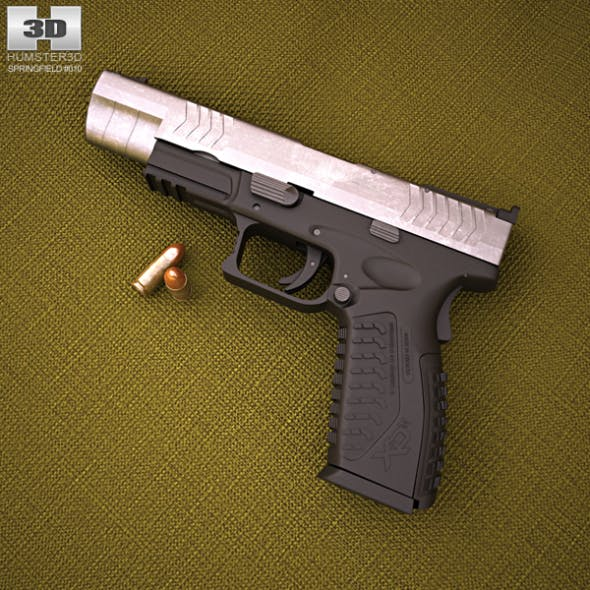 Springfield Armory XDM Competition - 3DOcean Item for Sale
